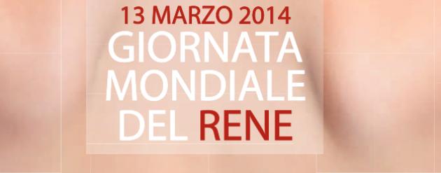 Giornata Mondiale del Rene: 13 marzo 2014