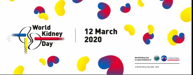 Giornata Mondiale del Rene 2020