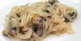 Torta di sardine alla Colombo
